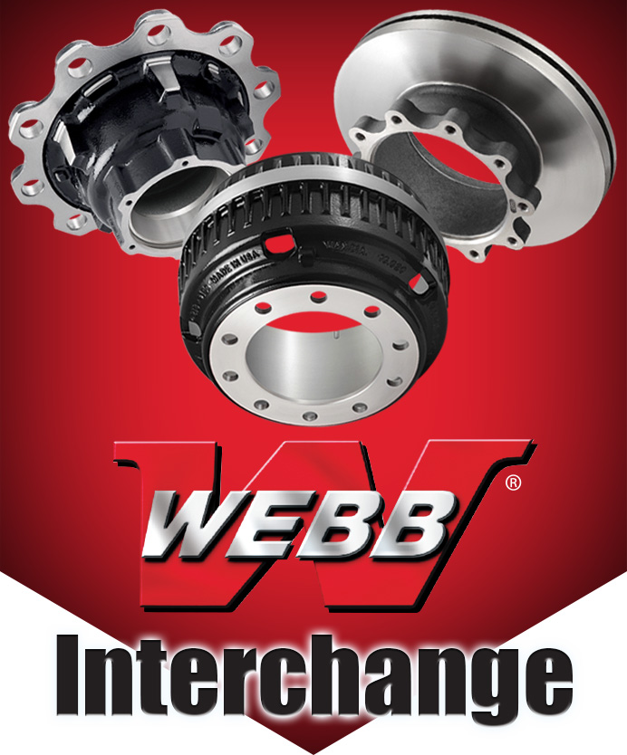 Webb Wheel | Brakedrums | Hubs| Rotors