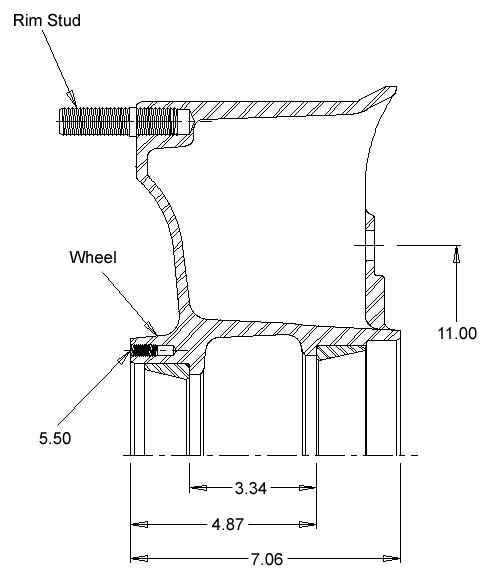Meritor Axle Tq : Webb wheel aftermarket drums hubs rotors